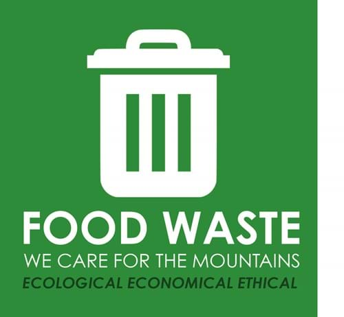 Food waste - We care for the mountains